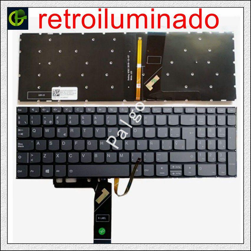 لوحة مفاتيح بإضاءة خلفية إسبانية لأجهزة Lenovo ideapad 330s 15 330S-15 330S-15ARR 330S-15AST 330S-15IKB 330S-15ISK 7000-15 لاتينية SP LA