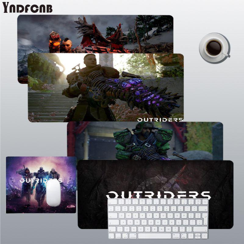 YNDFCNB Outriders милые клавиатуры коврик резиновый игровой коврик для мыши Настольный коврик размер для Deak коврик для overwatch/cs go/world of warcraft