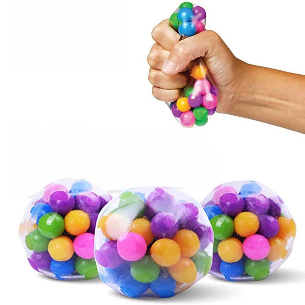 Мягкие Гелевые шарики из термопластичной резины, Цветные Шарики ДНК, мяч для снятия стресса, дешевые товары с бесплатной доставкой, мини-игр...