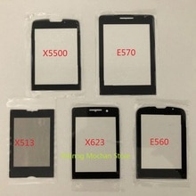 For Philips Xenium X5500 E560 X623 X513 E570 E571 New Front Panel note Touch Screen Mobile Phone gla
