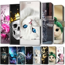 Wallet Case For Samsung Galaxy A9 2018 J1 2016 J2 Core J2 Prime Case Leather Luxury Flip Cover For S