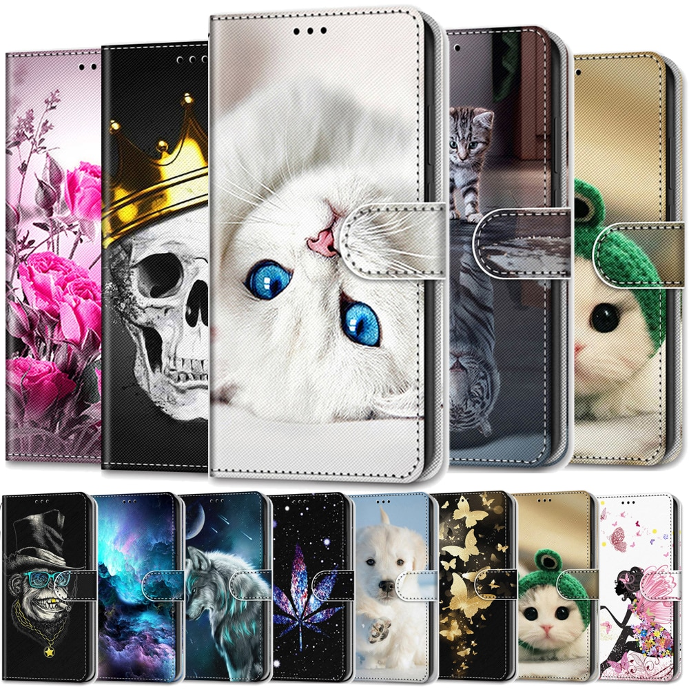 Чехол-кошелек для samsung Galaxy A9 2018 J1 2016 J2 Core J2 Prime, роскошный кожаный чехол-книжка для samsung A9 Star Pro A9s, чехол s