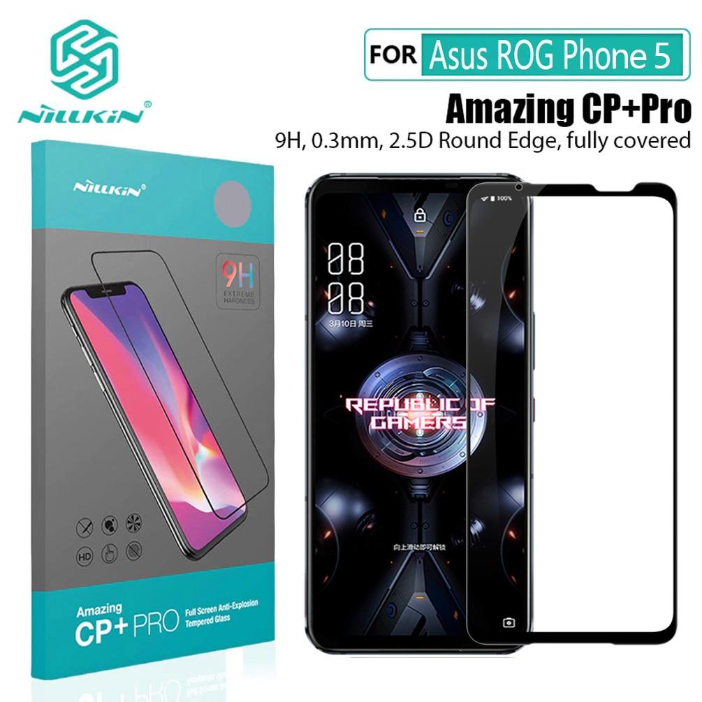 Para Asus ROG teléfono 5 de vidrio templado NILLKIN CP + Pro...