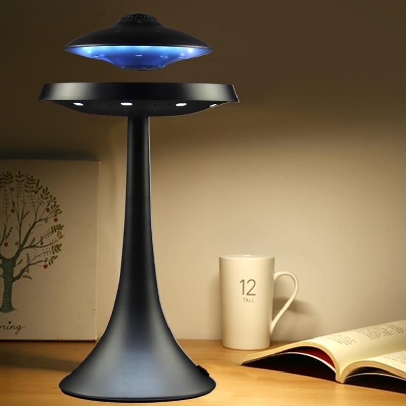 Настольная лампа, светодиодная, с Bluetooth-Колонка в виде НЛО
