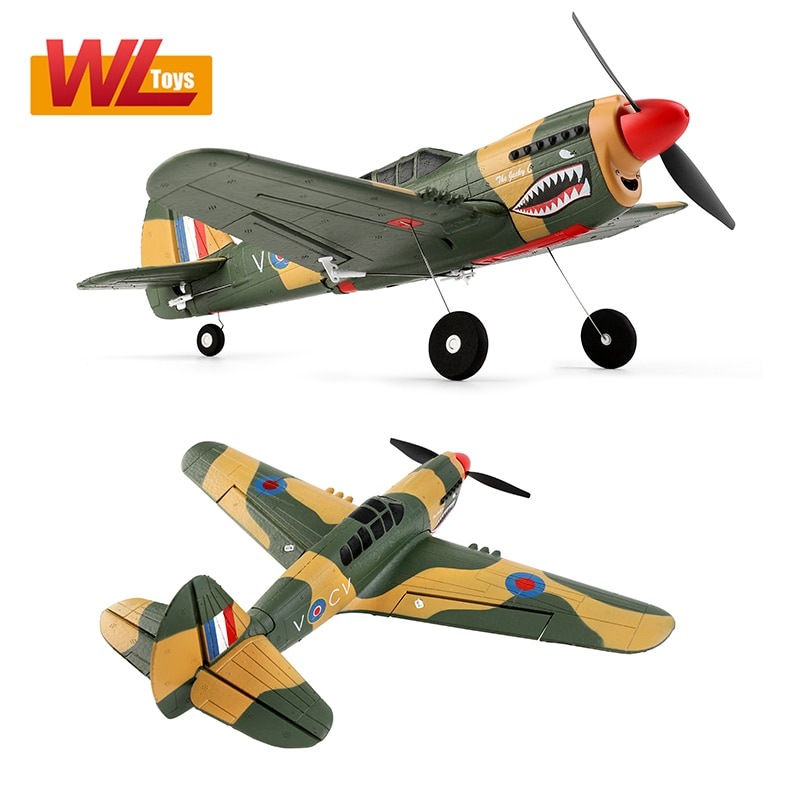 XK A220 P40 4Ch 384 Wingspan 6G/3D Modle Stunt Plane Six Axis Stability Remote Control Airplane Electric RC Aircraft Outdoor Toy enlarge