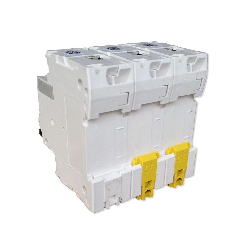 Exportação original c tipo c120h 4 p 80a 100a 125a 400 v 50/60 hz proteção de distribuição de energia micro interruptor de alta quebra