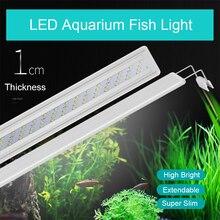 Adjustable Clip-on 5W-16w LED Aquarium Lighting Fresh Water LED Light for Tanks Fish Plants Grow Light