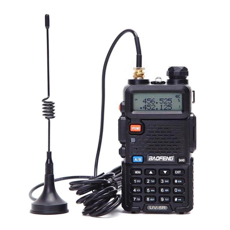 Baofeng antena para rádio portátil mini carro vhf antena para quansheng baofeng 888 s uv5r walkie talkie uhf antena lx9a