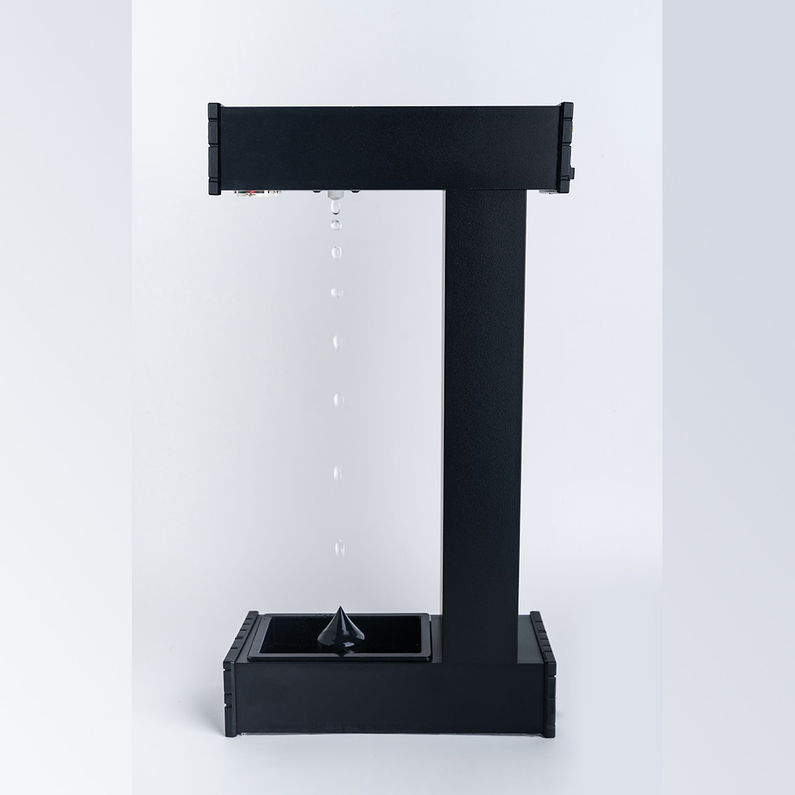 Anti-Gravity Time Hourglass Anti-Gravity Suspended Water Drops Backward Office Decoration Black Technology Creative Birthday Gif