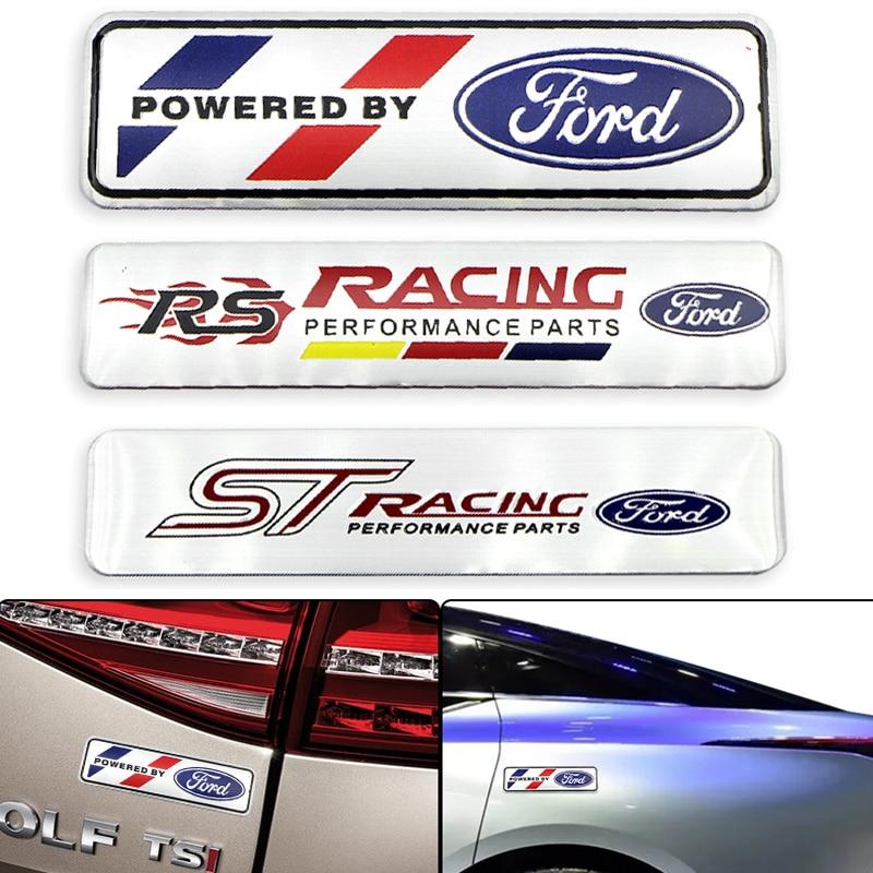 Pegatina de Metal 3D para coches Fords RS ST Wolf Fords Focus 2 3 1 MK2 MK3 MK1 Fusion accesorios para automóviles decoración de automóviles