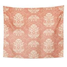 Tapis Antique damassé élégant luxe Baroque classique courbe élégance décor à la maison tapisserie tenture murale pour salon chambre