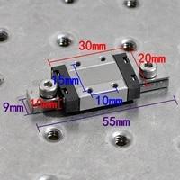 nb japan sebs9b small precision slider sliding table miniature pneumatic rail slider 2030mm