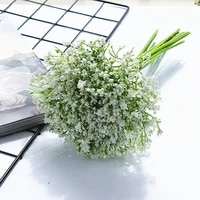 handwritten gypsophila artificial flowers bridal accessories clearance wedding christmas home decorations vase for dining table