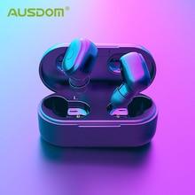AUSDOM TW01 TWS écouteur sans fil Bluetooth 20H temps de jeu casque sans fil CVC8.0 écouteurs Sport à suppression de bruit avec double micro