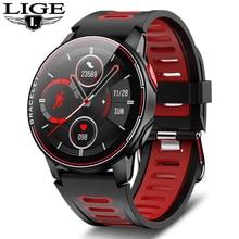 LIGE New Smart Watch Men IP68 Waterproof Sports Women Bluetooth Smartwatch Fitness Tracker Heart Rat
