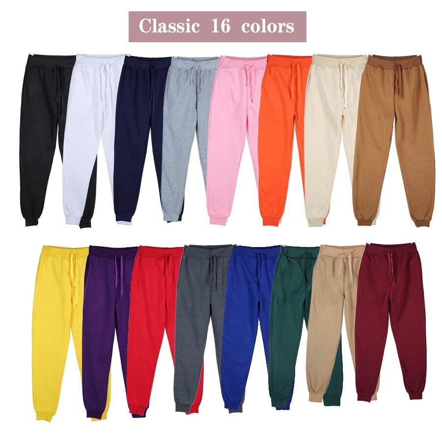2021 повседневные однотонные мужские брюки, спортивные хлопковые серые мужские джоггеры, свободные спортивные брюки, черные брюки, уличная о...
