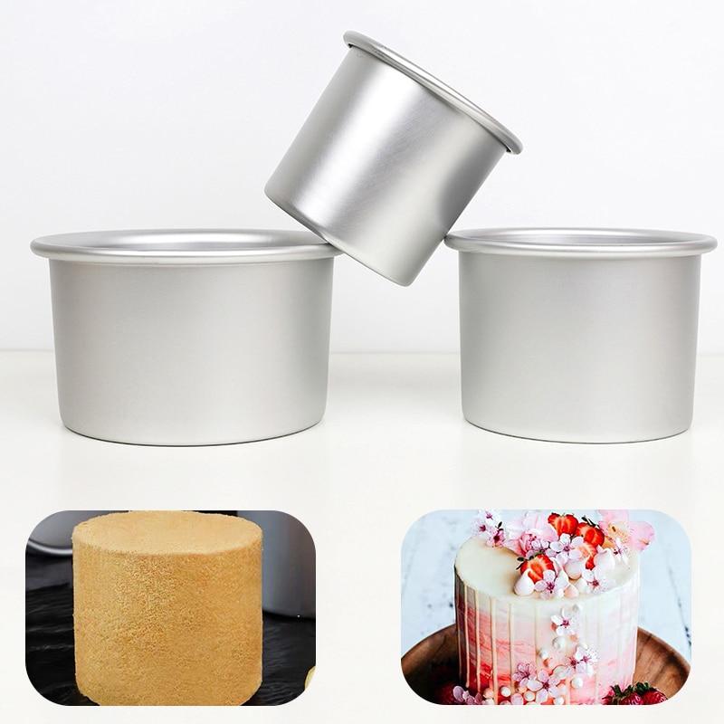 AliExpress - 4/6/8 Inch Heightening Cake Mold luminum Round Cheese Mold Baking Pan Cake Template Baking Dish Bakeware Tool