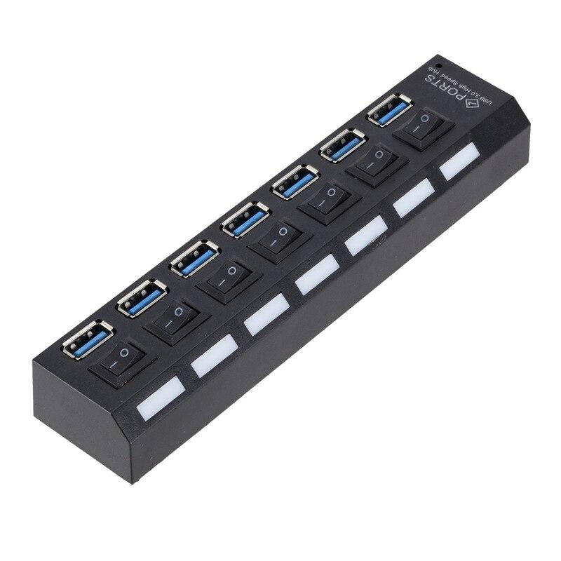Multi Puerto Adaptateur 5,25 Hubs USB divisor del adaptador del 3,0 del...