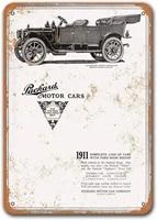 1911 packard thirty touring motor cars tin metal signs vintage cars sisoso plaques poster bar garage retro wall decor