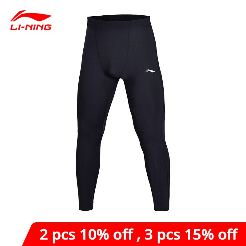 Li-Ning Men Running Jogger Layer Pants Tight Fit Comfort Fitness 78%Nylon 22%Spandex li ning LiNing Sports Pants AULN001 MKY354