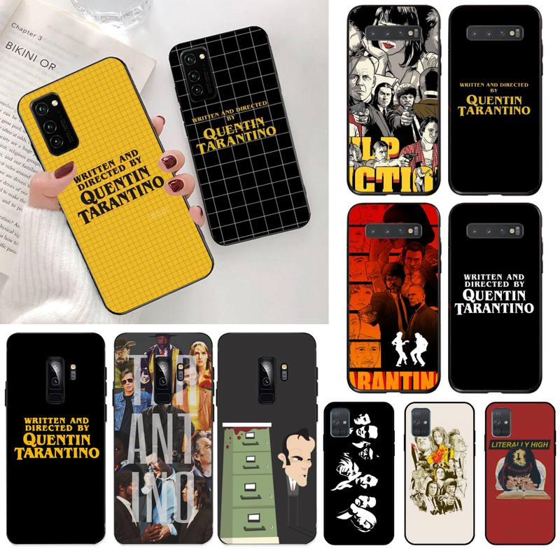 yjzfdyrm-written-directed-quentin-tarantino-black-phone-case-for-samsung-s20-plus-ultra-s6-s7-edge-s8-s9-plus-s10-5g-lite-2020