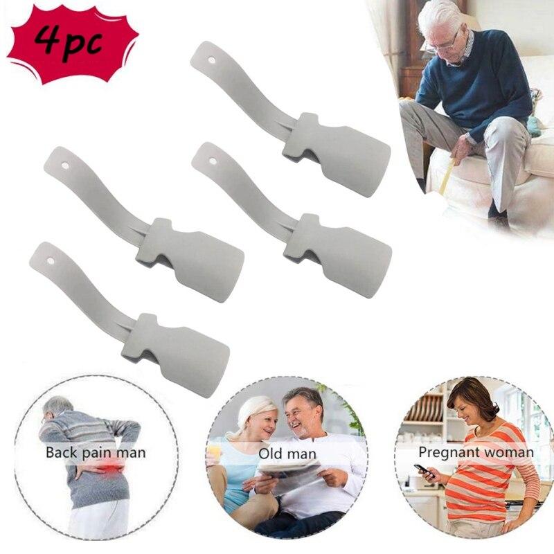 Sock slider ajuda helper kit ajuda ajuda fácil colocar meias em fora nenhuma sapata de dobra chifre adequado para meias pé cinta apoio y