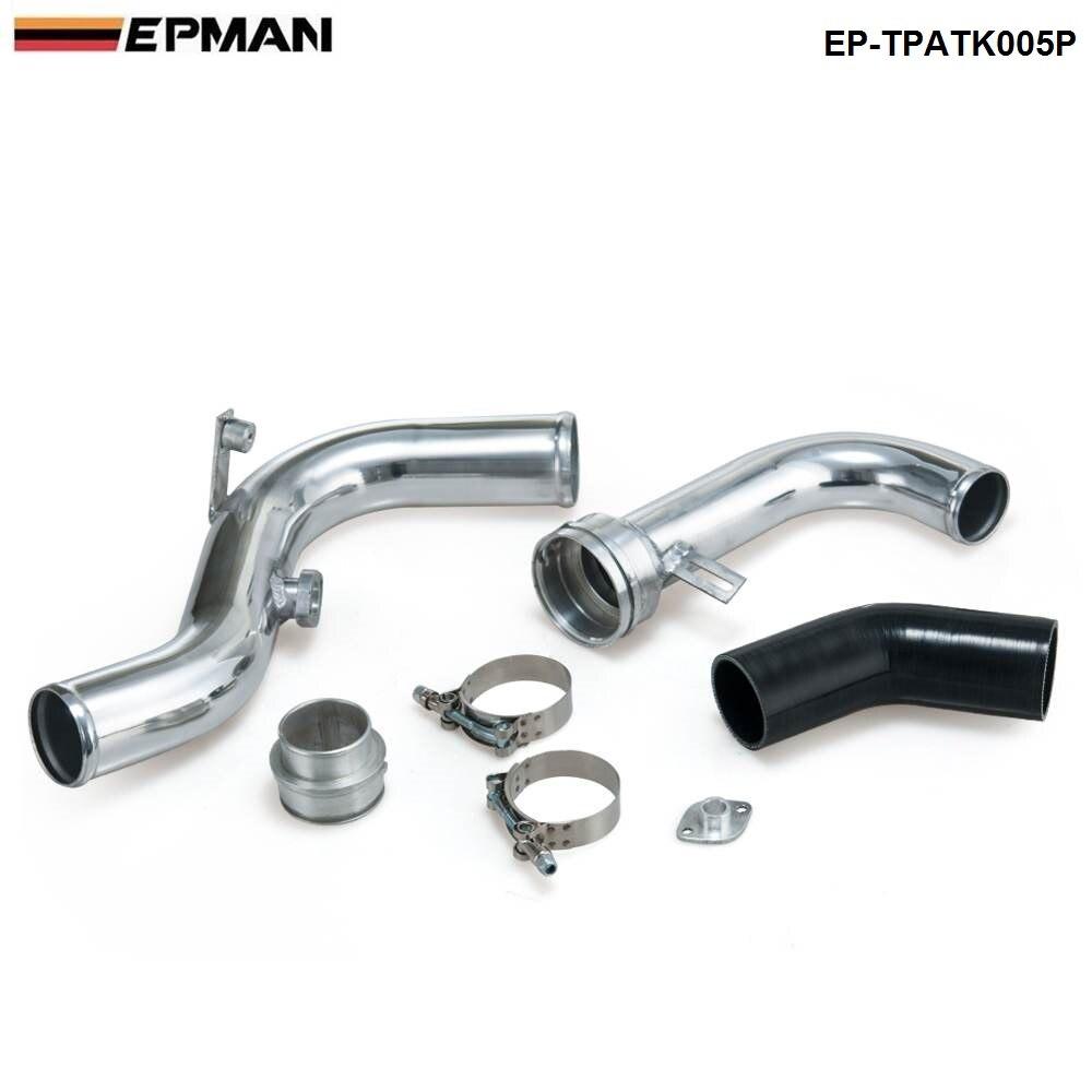 Para Volkswagen VW Golf GTI MK5/MK6 2,0 T Turbo Kits de tuberías/EP-TPATK005P de tubo de refuerzo de aluminio