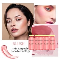 5ml new bb blush long lasting blush hydrating pigmented cheek rouge matte natural cream cosmetic face make up blusher
