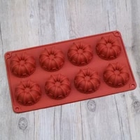 mousse cake mold mini crown shape birthday decoration jelly pudding and chocolate toast bread home baking tool