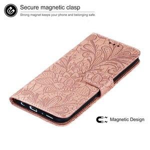 Image 2 - Кожаный чехол бумажник с тиснением для Huawei P30 P40 Mate 20 30 Lite Pro Nova 3i 4 5 5i 6 7 SE 7i, чехол книжка с магнитным слотом для карт, 2021