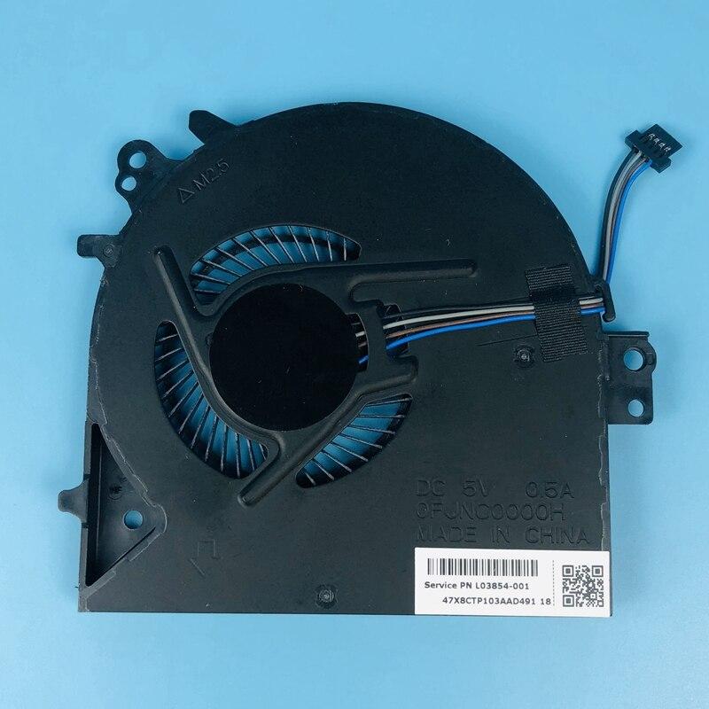 Novo genuíno portátil cpu cooler fan para hp probook 450g5 450 455 470 g5 notebook ventilador de refrigeração L03854-001 fjnc ofjnc0000h 5 v 0.5a