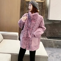 spring new girls faux rabbit fur coats and jackets women korean loose autumn and winter faux fur coats female %d0%ba%d1%83%d1%80%d1%82%d0%ba%d0%b0 %d0%bf%d0%b0%d0%bb%d1%8c%d1%82%d0%be