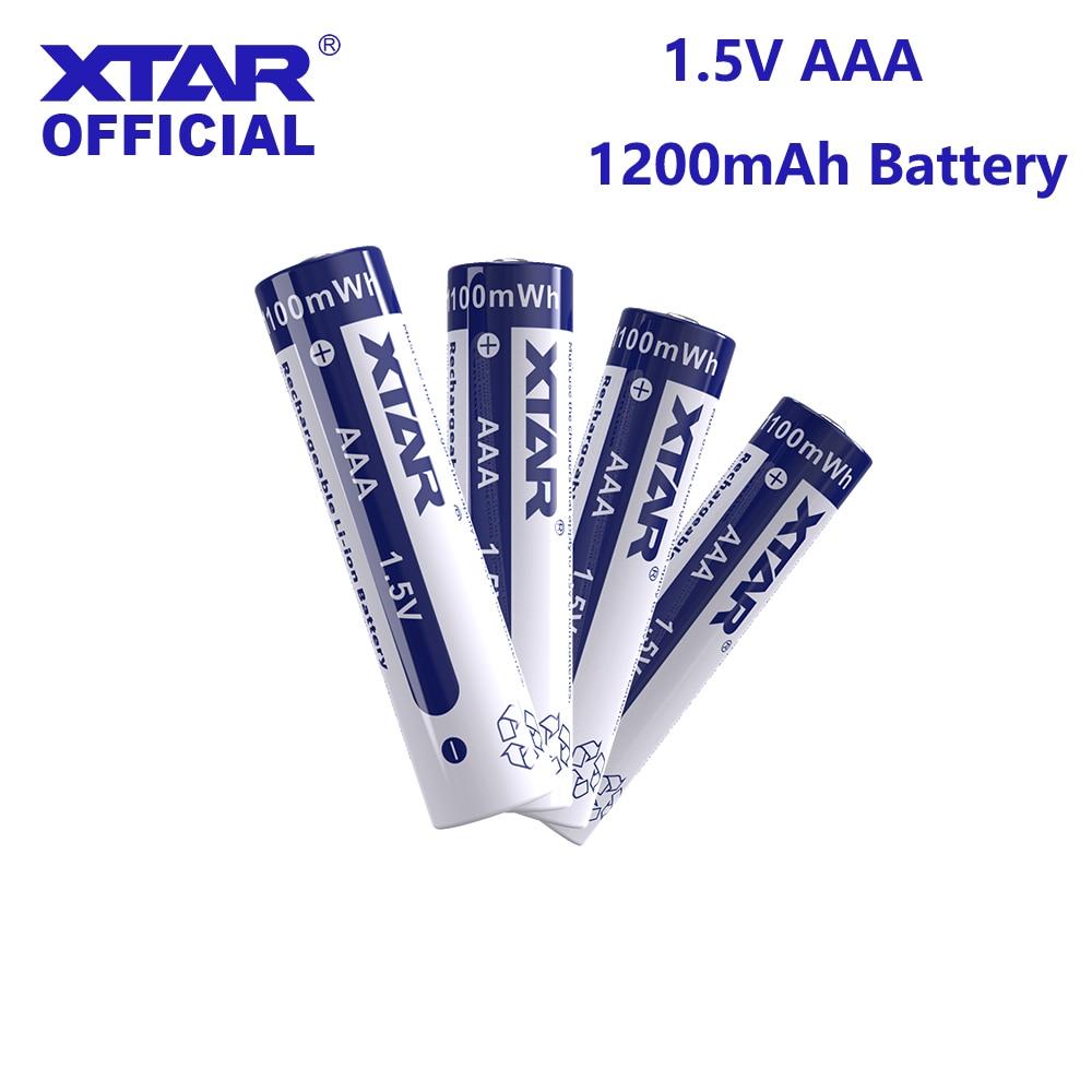 Аккумуляторная батарея XTAR 1,5 в, AAA, 1200 мАч