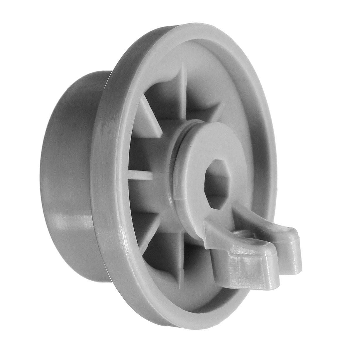 4 peças rodas cinzentas para bosch siemens neff máquina de lavar louça rack cesta aspirador t