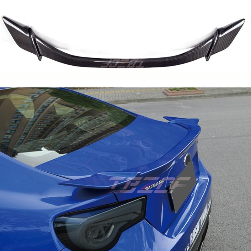 For Toyota GT86 Subaru BRZ Scion FR-S FRP/Carbon Fiber Auto Car Rear Trunk Spoiler Wing 2012 - 2017