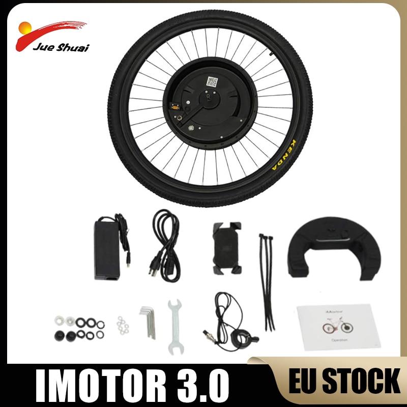 EU Stock iMotor 3.0 Electric Bike Conversion Kit 36V 350W Ebike Front Hub Motor Wheel Electric Bicycle Conversion Kit 26