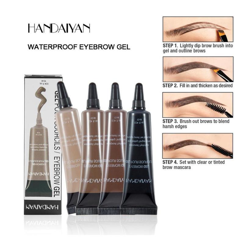 Kosmetik Make-Up Pro Augenbraue Creme Gel Make-Up Augenbrauen Tattoo Pen Tint Langlebig Wasserdicht Henna Augenbraue Gel