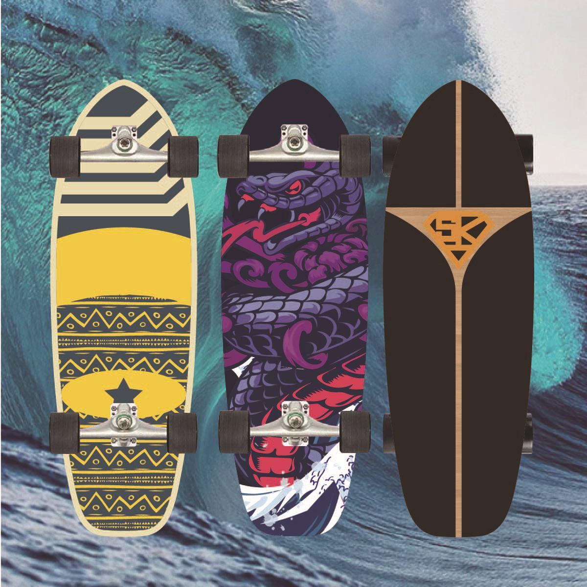Профессиональный короткий Кленовый Скейтборд для подростков, доска для серфинга, скейтборд, уличная Чистка, спортивное оборудование Gyroroue ...