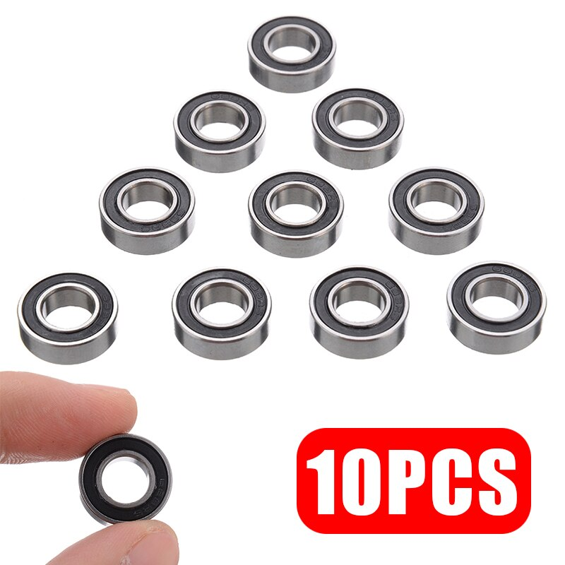 10 unids/lote 5mm de espesor Mini rodamiento 688-2RS 688 RS rodamiento de bolas sellado de goma rodamientos prácticos en miniatura