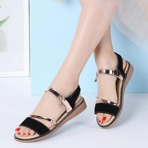 Outdoor Ladies Shoes 2021 Summer Gladiator Sandals Women Wedges Sandals Party Wedding Shoes Ladies Sandal Plus Size