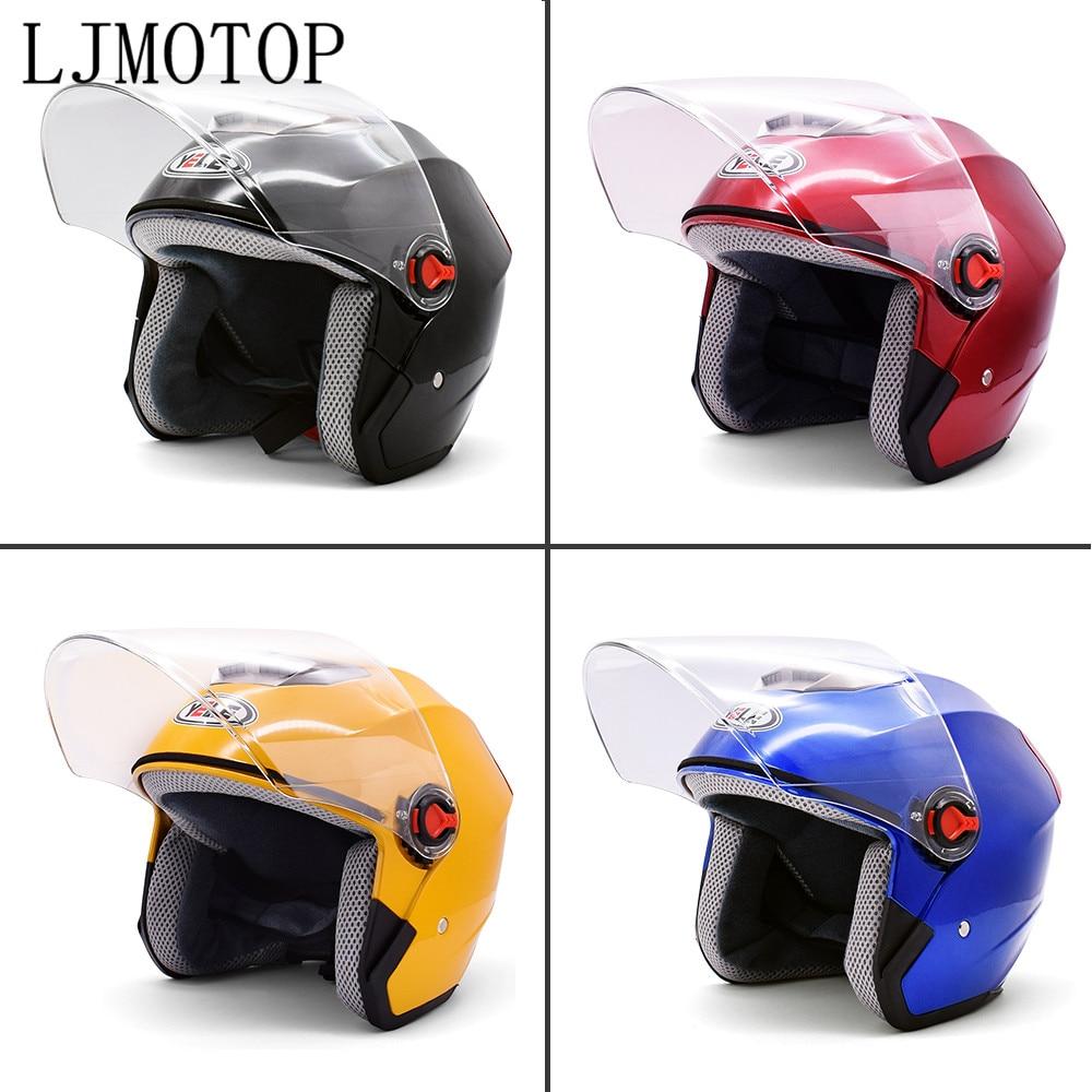 Motorcycle Open Face Helmet Moto Modern Helmet Electric Bicycle Helmet For honda cb190r cb1000r monkey yamaha tmax 500 530
