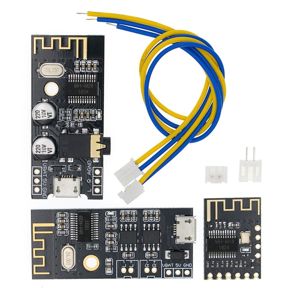MH-MX8 M18/M28/M38 inalámbrico Bluetooth MP3 Audio receptor board BLT 4,2 mp3 kit decodificador sin pérdidas