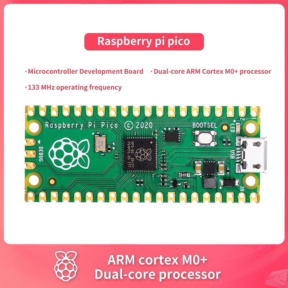 Nueva Raspberry pi pico Placa de desarrollo del microcontrolador Dual-core ARM Cortex...
