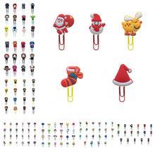 25 pièces Avenger Star Wars Mini Figure signets dessin animé trombones licornes livre marques porte-Page pour enseignant étudiant cadeau de noël