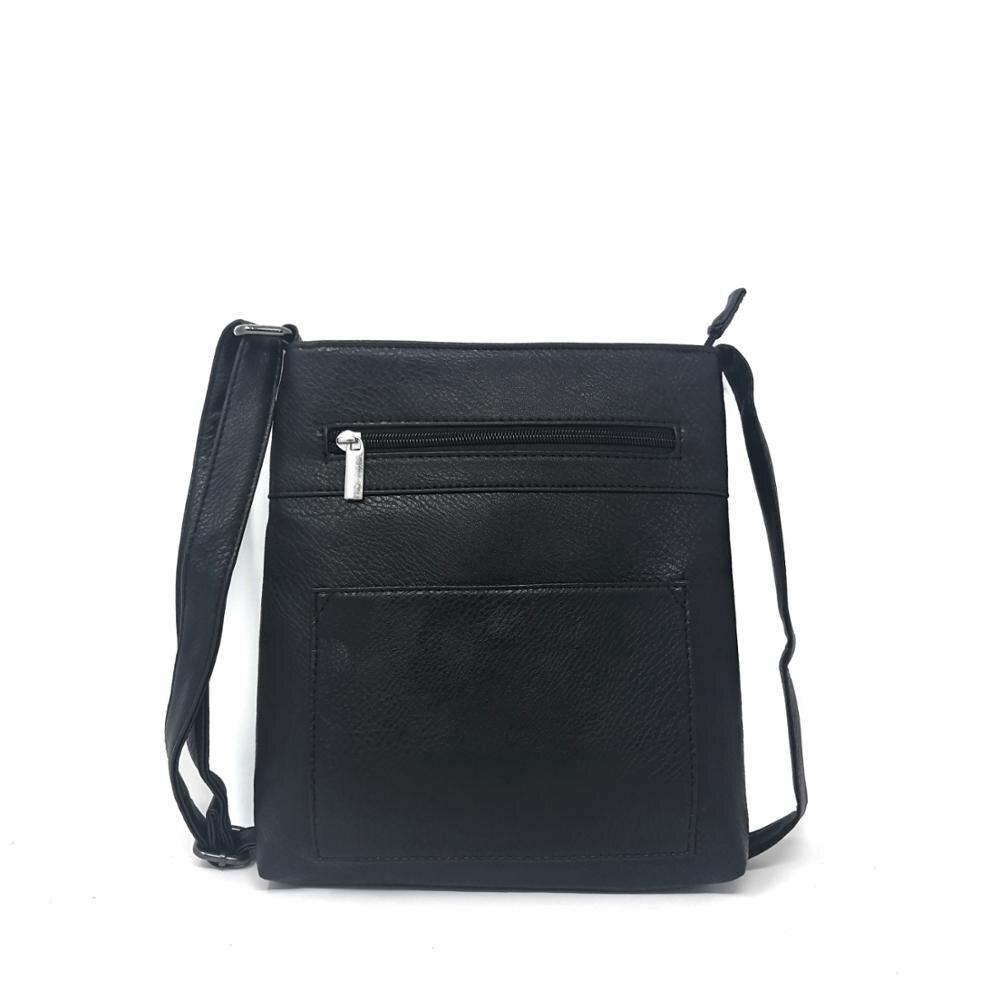 PU المرأة جلدية رسول حقيبة السيدات حبال صغيرة Crossbod الكتف أكياس أضعاف إغلاق المحافظ/HD-67039D
