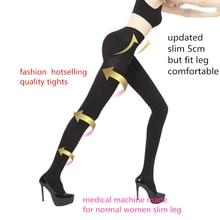ผู้หญิง Slim ถุงน่อง Therapeutic 20 MmHg ฟื้นฟู680D Shaper ขาบาง TIGHTS การบีบอัด Lycra Compressure Pantyhose