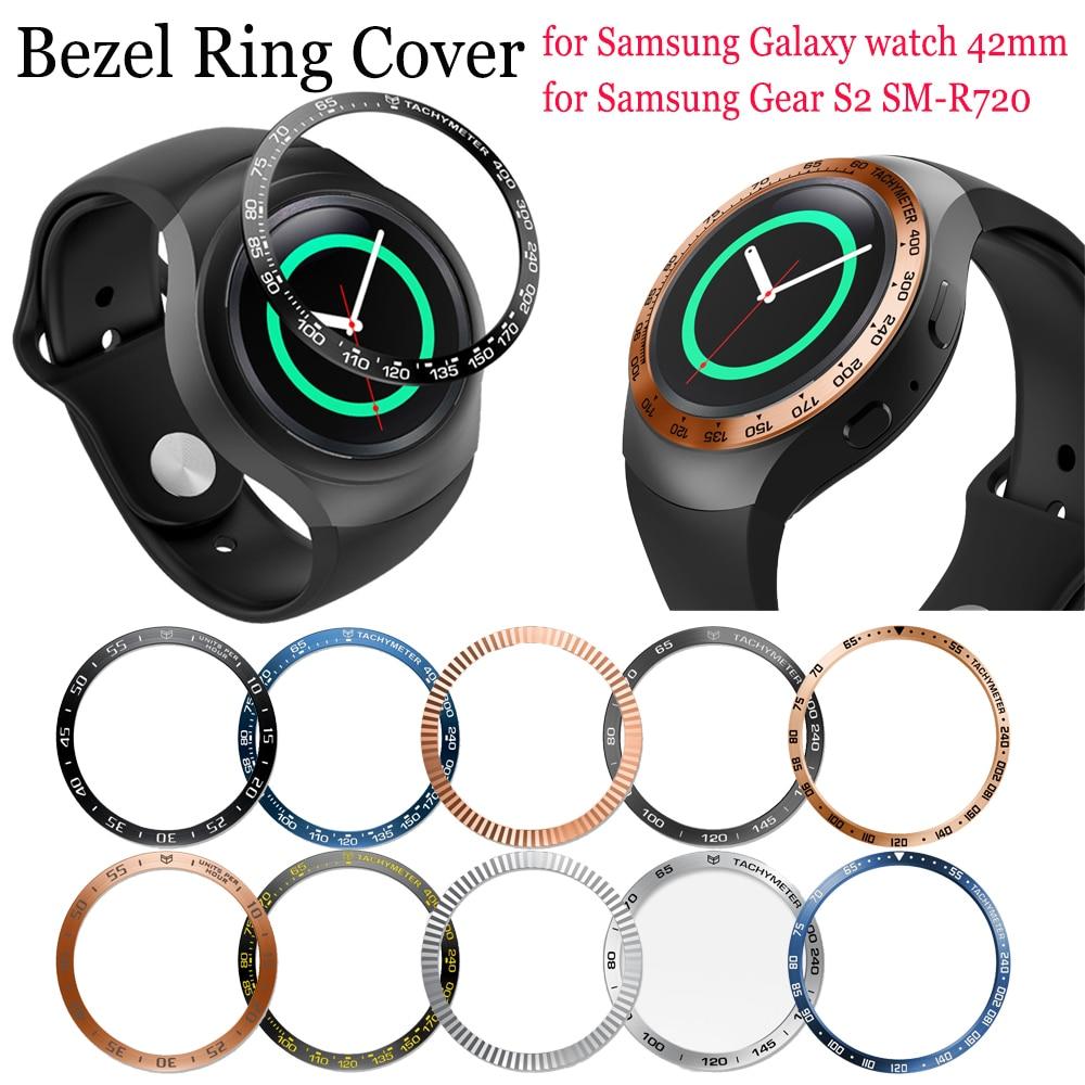 Funda de anillo de Metal antiarañazos para Samsung Galaxy Watch, marco de...