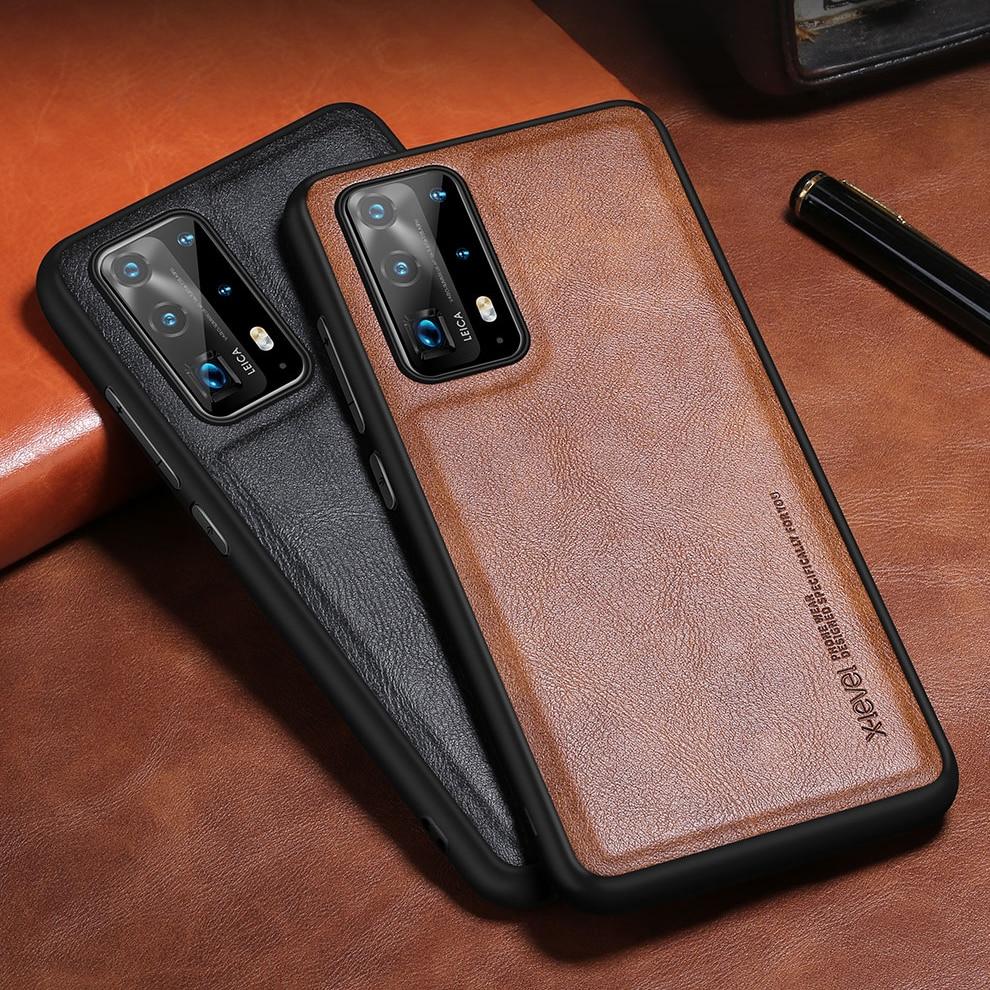 Кожаный чехол X-Level для Huawei P40 Pro, оригинальный мягкий силиконовый чехол для задней панели телефона Huawei P40 Lite, чехол