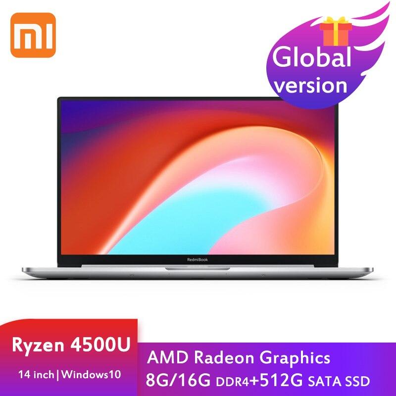 Xiaomi RedmiBook 14 2nd portátil Ryzen 5 4500U 16G/8G DDR4 + 512GB...