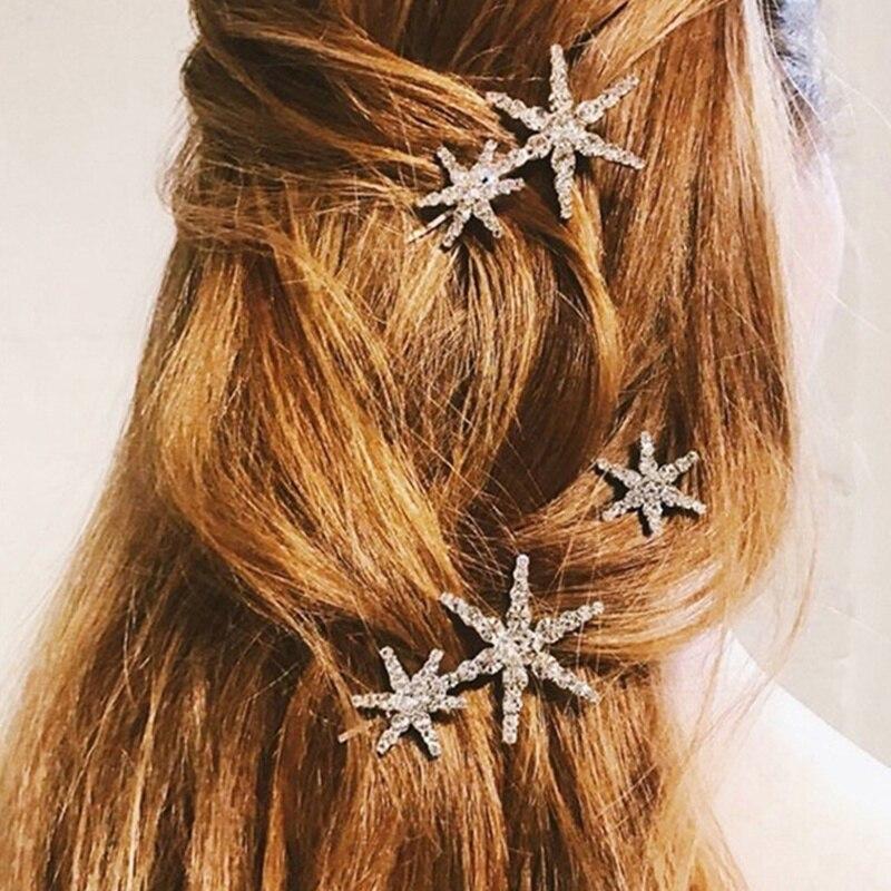 women-wedding-hair-accessories-star-hairpin-side-folder-jewelry-hair-clips